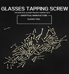 10000pcs / set autofilettanti Occhiali Occhiali Accessori Cerniera a molla Viti da accessori della cerniera fornitori