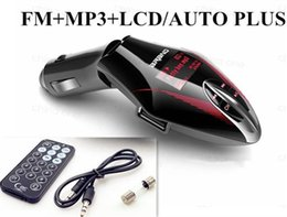 Wholesale Mp3 Player Radio Remote - LCD Vogue Car Kit MP3 Player Wireless FM Transmitter Modulator w  Remote USB TF Free Shipping & Drop Shipping