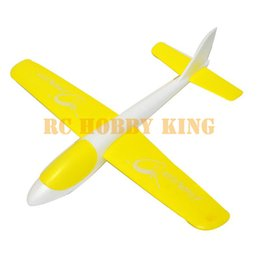 Wholesale Airplane Throw - Wholesale-2015 New DIY Educational Mini Hand Launch S186 Throwing Wings Outdoor Airplane Aircraft Flight EPO Foam Toys