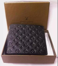 Wholesale Famous Wallet - 2017 NEW Hot Famous designer brand wallet, men's female short wallet fashion classic wallet and wallet . Free shipping