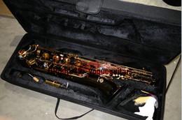 Atacado- MADE IN CHINA NOVO preto níquel ouro Frete grátis Mark Mk Low Bari Saxofone Sax Barítono de Fornecedores de saxofone por atacado