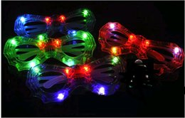 Wholesale Cheap Plastic Decoration - Party Decoration LED Spiderman Glasses as gift Cheap Special LED glasses party supplies Christmas gift
