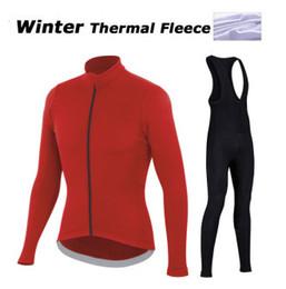 Manica lunga lunga della camicia da ciclismo online-2016 Uomo inverno Ciclismo Jersey Bicicletta Maniche lunghe ciclismo Abbigliamento Ropa ciclismo ciclismo Abbigliamento Camicie Taglia XS-4XL rosso