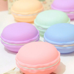 Wholesale cheap candy gifts - 500pcs Cheap!!Two size Birthday Sweet Cute Candy Macaron Jewelry Mini Case Storage Box Cosmetic Makeup Container Valentine's Day Gift By DHL