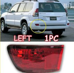 Wholesale Toyota Prado Tail Lights - Left 1pc FJ 120 Tail Light Brake Fog Lamp for Toyota Prado Cruiser 2003 2004 2005 2006 2007 2008 2009