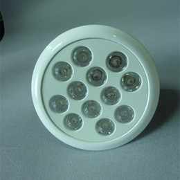Wholesale E22 Led - 2015 New LED Spotlights Red Blue E27 E22 Base Aluminium Body LED Spot Lamp, Downlight with Cree Chip Fast Delivery for Garden Commercial Use