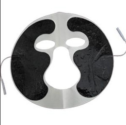 Wholesale Mask Connector - 2.00 pin connector electrode pad non-woven face mask slice adhesive electrode pad for beauty care
