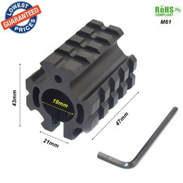 Wholesale Picatinny Rail Scope Mount Rings - ALONEFIRE M61 Universal 3 Picatinny weaver Rail 19mm ring Barrel Hunting Scope Mount 21mm Fit for mount scope