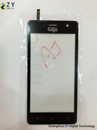 Цена сенсорной панели онлайн-Gigo FPC-HX047473A-V2 / Тактильная панель с заводской ценой для Gigo C300 телефон запасных частей / ZY TOUCH