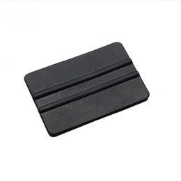 Wholesale Vinyl Vehicle Wrap Black - super soft squeegee car wrap apply tool 10*7cm Black vinyl squeegee for vehicle wrapping MX-715