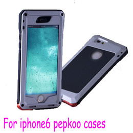 """Wholesale Love Mei Powerful - PEPKOO For Iphone 6 6G iphone6 4.7"""" plus 5.5 """" love Extreme powerful mei waterproof case with Aluminum Metal Cases"""