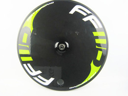 Wholesale Carbon Road Disc - FFWD painting full carbon road bike disc wheels, bicycle rear of track road cycling wheel bike accessories