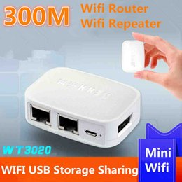 Wholesale Small Repeater - 2018 Sale Repetidor Wifi Limited Repeater World Smallest Wt3020h Router 300m Mini Portable Wireless Support Usb Flash Drive Wi Fi Roteador
