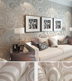 Wholesale Gold Living Rooms - Fashion Hot 0.7m*8.4m wallpaper rolls Papel de parede Sprinkle gold murals damask wall paper roll modern stereo 3D mural wall paper