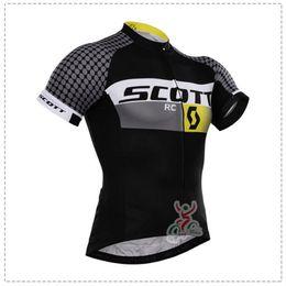 Wholesale Scott Jersey Short Women - 2017 Scott Cycling jersey bike clothes tour de france Bicycle Clothing quick dry Men Wear short sleeve shirt summer mtb sports jersey B1511