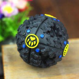 Wholesale Dog Activity Ball - Pet Dog Cat Food Ball Squeaker Quack Sound Chews Toy Treat Training Sound Activity Giggle Balls New