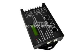 Wholesale Rgb Interface - Wholesale-NEW! Programmable time led controller ,5 channel*20A DC12-24V LED RGB Controller for led strip,pc computer interface controller