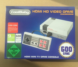 Wholesale Video Games Hd - Mini TV Handheld Game Console Video New Retro Classic Game Consoles Built-in 620 500 Childhood Classic Game HD HDMI 600 500 Nes Games