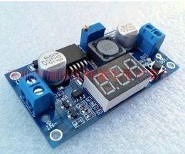 Wholesale Power Supply Adjustable Voltage - The new DC-DC adjustable voltage regulator, power supply module, LM2596, voltage regulator module with voltage meter display