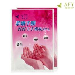 Wholesale Hand Exfoliating Mask - 50bags Soft hand mask hydrating whitening Exfoliating Scrub callused hands care whitening nourishing hands care whriten