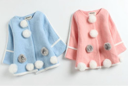 Wholesale Toddlers Trench Coats - baby autumn winter coats girls fashion outwear childrens korea style clothing kids clothes wholesale infant toddler trench winter cardigan