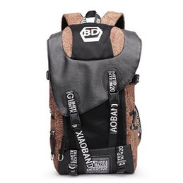 Wholesale Waterproof Canvas Rucksack - 2016 Outdoor Tactical Sport shoulders Hiking bag Unisex Travel Rucksack Daypacks Durable Waterproof Canvas bag School backpack laptop comput