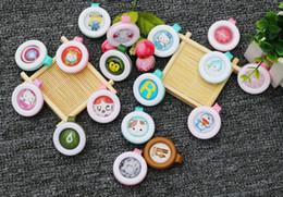 Wholesale Pregnant Cute - Baby Pregnant Anti-mosquito Button Cute Animal Cartoon Mosquito Repellent Clip Buckle Non-toxic Mosquito Repellent Buckle Pest Control