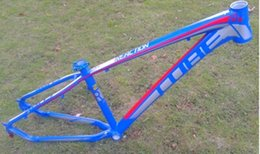"Wholesale Cube Road Bike Frame - 2015 CUBE REACTION colorful aluminum alloy ultra-light MTB mountain bike frame 29"" DIY frame+Freeshipping"