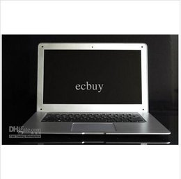 Wholesale Dual Core Notebook Window - 14 inch Laptops Notebook Intel Dual Core HDMI laptops D2500 Win Seven 2GB 160GB 250G 320G Cheap Mini laptop Computer PC