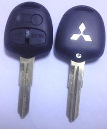 Canada KL1 Mitsubishi Lancer EX 3 boutons clé à distance cas, shell de clé de voiture, clé de voiture de haute qualité vide 10 pcs par lot supplier ex cars Offre