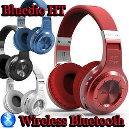 Deutschland Wholesale-Bluedio HT (Shooting Brake) Drahtlose Bluetooth 4.1 Stereo-Kopfhörer integrierte Mikrofon Freisprecheinrichtung für Anrufe Headset Kopfhörer Kopfhörer cheap bluedio ht bluetooth earphone Versorgung