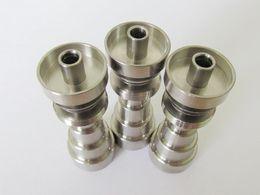 Wholesale Titanium Nail Infinity - Universal Infinity Domeless Titanium Nail 14mm & 18mm Adjustable Male or Female Oil Gr2 domeless titanium nails vs ceramic nail