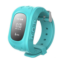 Wholesale Wholesale Gps Watches - Q50 Kids Smart Watch GPS LBS Double Location Safe Children Watch Activity Tracker SOS Card for Android and IOS