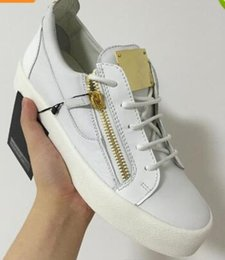 Wholesale Sports Shoe Zippers - Fashion Luxury Brand White Black Stone Pattern Casual Shoes Zipper Lace Up Flat Shoes Men Women Low Top Sneakers Sport Shoes