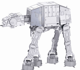 Wholesale Laser Cut Diy - Star Wars DIY Metal works model 3d Laser cut jigsaw puzzle model for educational & learning toys and killing time free shipping
