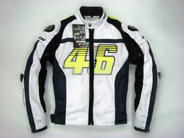 Wholesale Motorcycles Mans Racing Suits - 2015 new summer VR46 Rossi D1 motocross motorcycle clothes moto racing suits motorbike jackets made of titanium and mesh S M L XL XXL XXXL