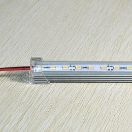 Barra de iluminación led rígida online-llevó la barra del acuario luz 50 CM / pc Blanco Cálido DC 12 V 36 SMD 5630 LED Luz Rígida Duro Tira de La Tira de La Barra de Luz led