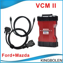 Wholesale Mazda Ford Key Programmer Scanner - New Released Multi-language V96 VCM II for Ford Mazda Diagnostic Scanner VCM2 Support 2014 Ford Vehicles DHL Free SHipping