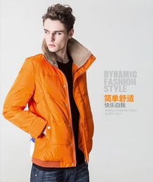 Wholesale Winter Clearance Down Coats Men - Fall-2015Men's clothing han edition down jacket Quality goods clearance man winter clothing detachable sleeves with thick coat Male