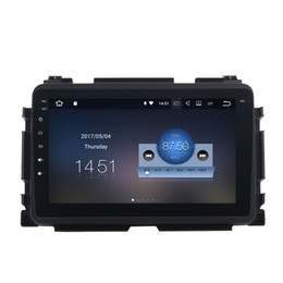 "Wholesale Multimedia Car Honda - 8"" Touch Screen Android 7.1 Car DVD Multimedia For Honda Vezel HR-V HRV With 2G RAM Quad Core GPS Navi Radio RDS BT WIFI 4G HDMI Output OBD"