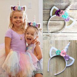 Wholesale Horn Hair Sticks - Decorative Magic Unicorn Horn Head Party Hair Headband Fancy Dress Cosplay Party