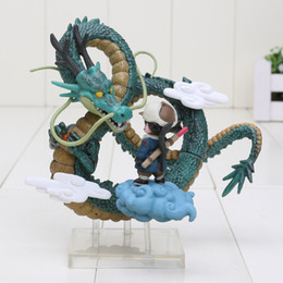 Wholesale Dragon Ball Shenron - Dragon Ball Z Museum Collection Son Gokou with Shenron Boxed PVC Action Figure Collectible Model Toy