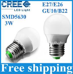 Светодиодные лампы глобус Пластиковая Лампа 3 Вт SMD бесплатная доставка светодиодные лампы новейший светодиодный материал 200 шт. cheap plastic globe от Поставщики пластиковый шар