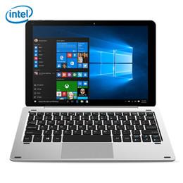 2019 compresse chuwi CHUWI 2 in 1 Ultrabook 10.1 pollici Windows10 Android 5.1 Tablet PC con tastiera Intel Cherry Z8350 Quad Core 4 GB 64 GB + NB compresse chuwi economici