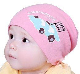 Wholesale Cars Knit Hat - Retail Unisex Baby Racing Car Printed Solid Beanies Knitted Hats Children Kids Spring Autumn Cap Skullcap Free Shipping MZ1307