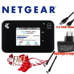 Wholesale Lte Hotspot - Unlocked Netgear Aircard AC810S 4G LTE Cat11 WiFi Mobile Hotspot Router plus antenna+a pair Christmas Socks
