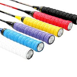 Wholesale high quality tennis grips - (6pcs lot) FANGCAN High Quality Buffed Grain Senior Keel Racket Overgrips, Badminton Grips, Sweatband, Tennis Grips