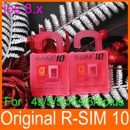 Wholesale New Cdma Mobiles - 2014 Best New Unlock Card ios8 ios 8 R-SIM R SIM RSIM 10 Perfect unlock iphone 6 plus iphone 6 5s 5 plus AT&T T-mobile Sprint WCDMA GSM CDMA