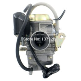 Wholesale Scooter Carbs - SCOOTER GY6 125cc Bicycle Motorcycle Motocross Dirt Bike Carbs Carburetor for Pocket Bikes ATV Quad CVK Keihin MOPED QMB