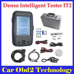 Wholesale Intelligent Tester Toyota - Best Quality Denso Intelligent Tester IT2 V2016.3 for Toyota and Suzuki with Oscilloscope by DHL Free Shipping